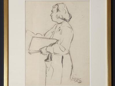 jentsje popma tekening jentsje popma hilda van norden jentsje popma van norden parool jentsje popma overleden jentsje popma akademie tekening jentsje popma kunstacademie rotterdam jentsje popma schilderij 1941 jentsje popma leeuwarden