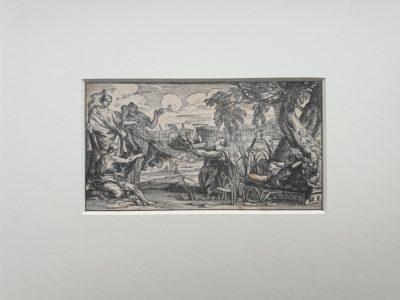 Elias Porzelius 1662 1722 engraving gravure devotionalia formschneider bijbel geloof deutschland duitsland germany for sale Skoander.com