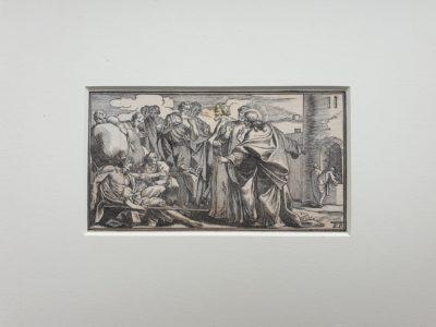 Elias Porzelius 1662 1722 engraving gravure devotionalia formschneider bijbel staalgravure koperprent vintage antiek antique geloof deutschland duitsland germany kopergravure bijbels Skoander.com