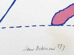 jan de bruin kunst leeuwarden friesland friese zeefdruk grafiek litho jubbega groningen bakkeveen graficus nu zeven beeldhouwer kunstenaar schilder skoander.com kunstschilder jan de bruin friese kunstenaar fryske keunst zeefdruk graficus