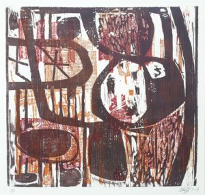 guido llinas abstract woodcut fine art cuba forgotten master abstract art cuban art los once france paris pinar del rio cuban artist cuban painter paintre the eleven kunst skoander bisit houtsnede meranti abstract skoander.com impressit guido llinas