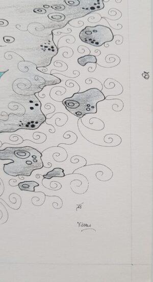 thisa schut kunst zegveld snits gemengde techniek kunstschilder lijstenmaker heerenveen lijstenmakerij schilderij tekening sneek kunstenaar schilder tekening yin yang art friesland woerden utrecht skoander.com