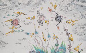 thisa schut kunst zegveld sneek snits schilderij schilderen lijstenmaker heerenveen kunstenaar kunstschilder skoander bisit schilder tekening yin yang kunst friese kunst art friesland woerden utrecht skoander.com