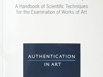 Technical Art History A handbook of scientific techniques for the examination of works of art Authenticationinart.org 2019 ISBN 978-90-9031032-9 9789090310329 Inhoudsopgave Daylight photography Ultraviolet imaging Infrared photography Infrared reflectography False color infrared Transmitted infrared Ultraviolet-induced infrered fluorescence Fibre optic reflectance spectroscopy (FORS) X-radiography K-edge imaging Synchroton X-ray fluorescence imaging Optical coherence tomography (OCT) X-ray absorption near edge spectroscopy (Xanes imaging) Scanning X-ray powder diffraction (XRPD imaging) Differential scanning calorimetry (DSC) Neutron activated autoradiography Neutron radiography Neutron imaging (NI) Raman spectroscopy Fourier transform infrared spectroscopy (FTIR) Synchotron radiation fourier transform infrared spectroscopy (SF-FTIR imaging) Scanning electron microscopy (SEM) coupled with Energy Dispersive X-ray Spectroscopy (EDS or EDX) Labarotoy-based micro X-ray diffraction (XRD) Surface-Enhanced Raman Spectroscopy (SERS) Macro X-ray fluorescence imaging (MA-XRF) Portable X-ray fluorescence (pXRF - spot analysis) Confocal X-ray fluorescence (cXRF) Proton induced X-ray emission (PIXE) Microsampling Osection microanalysis uning staining tests Immunological tests X-ray photoelectron spectroscopy (XPS) Secondary ion mass spectrometry (SIMS) Gas chromotagraphy coupled with mass spectrometry (GC-MS or GC/MS) Pyrolysis gas chromatography coupled with mass spectrometry (Py-GC/MS) Electrospray ionization mass spectrometry (ESI-MS) Direct temperature massspectrometry (DTMS) - Thermogravimetric mass spectrometry (TGMS or TGA-MS) Laser ablation inductively coupled plasma mass spectrometry Matrix assisted laser desoption ionization mass spectrometry (MALDI MS) - Electrochemical analytical methods Lead isotope analysis Terahertz spectroscopy and imaging Canvas weave thread counting Radiocarbon dating method Radiocarbon dating using bomb peak c14 Dendrochronologyptical microsco