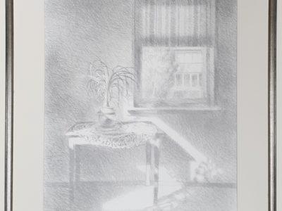 evert meilink schilderij kunst kunstschilder tekening houtskooltekening kamer tafeltje friese kunst buitenpost achtkarspelen gramsbergen overijssel hardenberg kunstenaar skoander.com