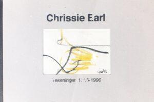 chrissie earl kunst art leeuwarden edgware london england engeland artbook kunstboek signed emmakade 100 leeuwarden friesland friese kunst