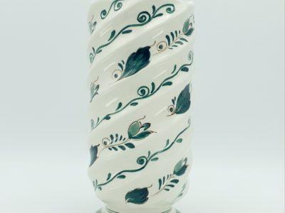 schoonhoven 690 delfts groen vaas delft 690 vaas aardewerk skoander.com