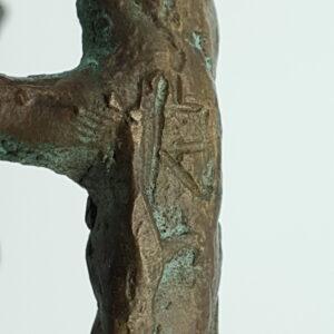leny richter deutsche kunstler bildhauer deutschland bronze bild maler sculptuur brons deutschland duitsland signiert bronzen beeld kunst kunstwerk bronzen brons beeld skoander.com