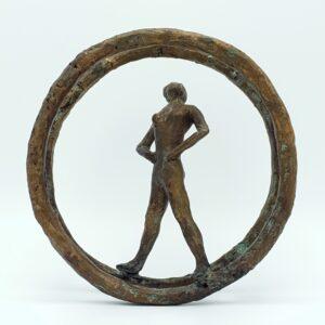 kunst leny richter bildhauer skulptur deutsche kunstler deutschland maler sculptuur brons beeldje bronzen signiert kunst kunstenaar beeldhouwer skoander.com