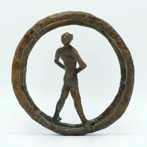 leny richter kunstler bildhauer bronze bild maler sculptuur brons deutschland duitsland signiert bronzen beeld kunst kunstwerk bronzen brons beeld skoander.com