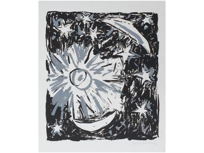 henk de vries kunstwerk henk de vries kunstenaar henk de vries hemrik henk de vries kunst friese kunst litho abstract skoander.com