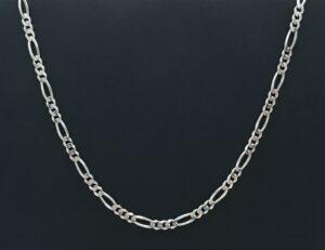 figaro zilver ketting zilveren ketting 925 zilver figaro italy kettinkje halsketting figaro zilver halsketting zilver 925