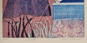 kunt greet lyklema ets landschap uitzicht grafiek greet lyklema sneek snits friese kunst.skoander.com