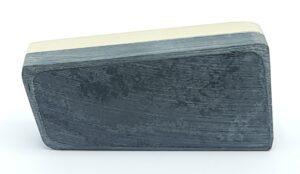 strepen toetssteen weg halen toets steen strepen verwijderen schoon maken toets steen goud testen zilver toetsen steen schoonmaken reinigen toetsstreep skoander.com