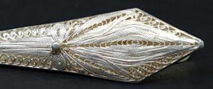 tie clip filigrain silver das speld zilver zilveren das speld das schuif stropdas filigrain stropdas klem fijn zilver filigraan stropdas zilver skoander.com