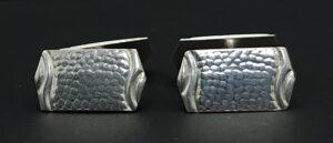 jumelles anchetknopen 835 zilver gemerkt zwaard af.* af* a j fibbe rotterdam jugendstil manchetknopen skoander.com