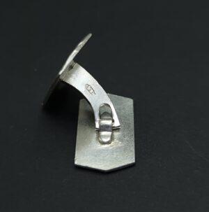 manchetknopen rotterdam fibbe zilvermerk AF zilver stempel AF manchetknopen zilver skoander.com