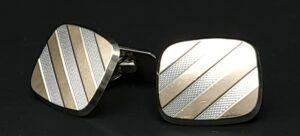 retro manchetknopen massief zilver dubbele manchet overhemd manchetknopen goldfront lohr rotterdam zilver manchet knopen 835 zilver skoander.com