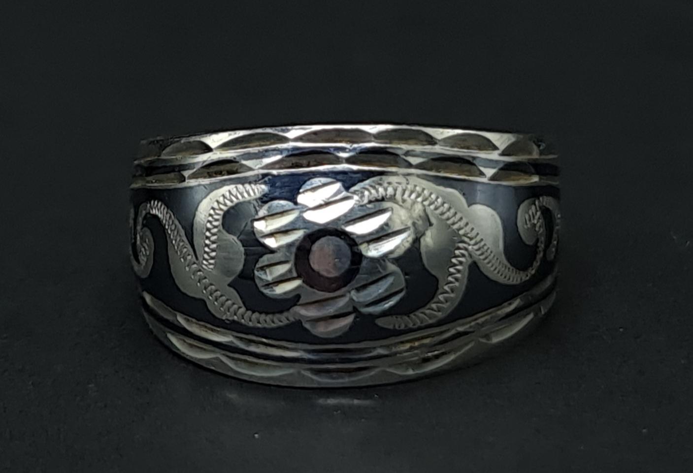 ussr silver ring 875 zilver russian ring 875 russisch zilver russia silver ring niello russia skoander.com ring rusland 875 zilver :bhp hallmark russian silver russisch zilver ring