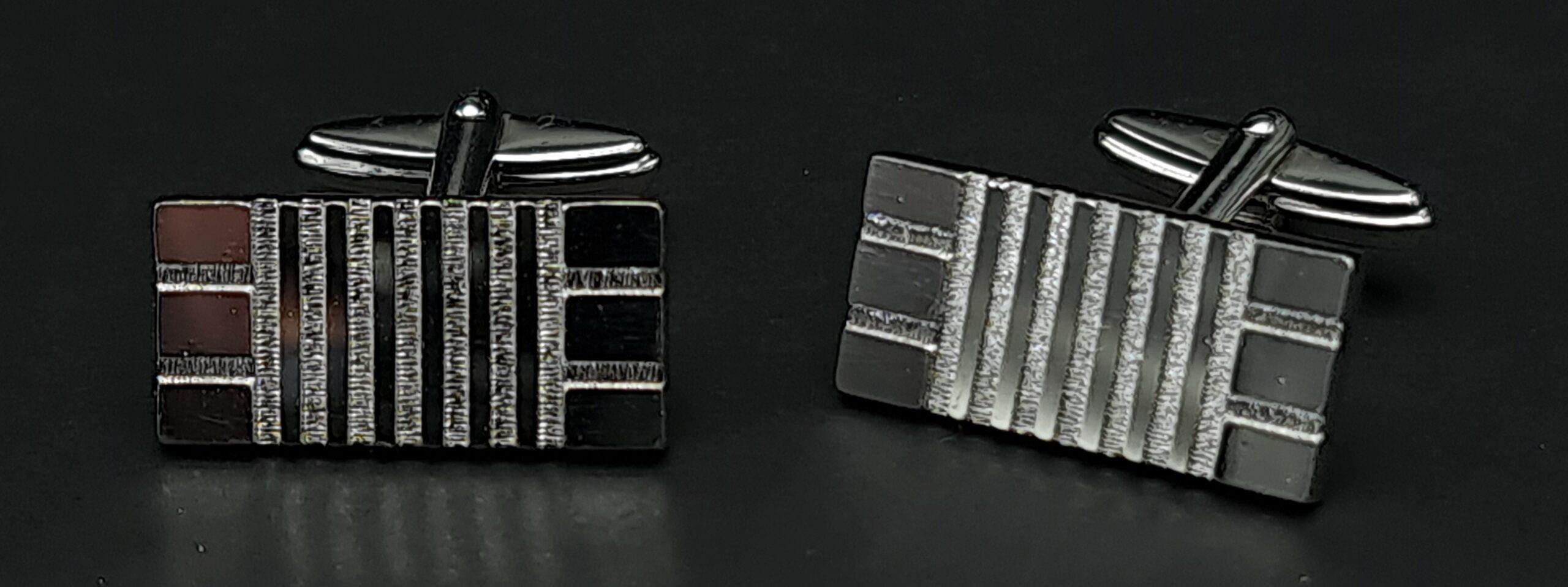 massief zilveren manchetknopen 835 zilver vintage zilveren manchetknopen retro zilver manchetknopen 835 silver cufflinks vintage skoander.com