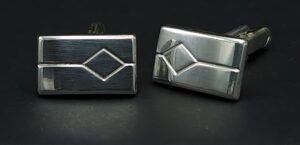 massief zilveren manchetknopen massief zilver manchet knopen sterling silver cufflinks vintage cufflinks retro manchetknopen west germany silber manchettenknopfe 925 silber skoander.com