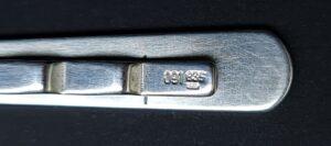 dasschuif 835 zilver stropdas speld zilver massief zilveren dasspeld das speld massief zilveren vintage dasspeld retro dasschuif skoander.com