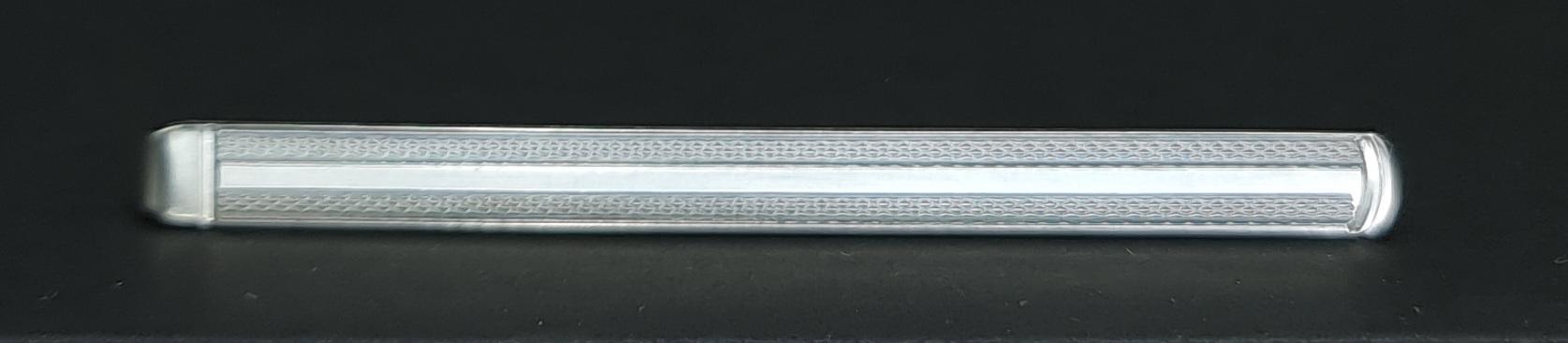 dasspeld 835 zilver tie clip 835 silver hallemark rj silver tie clip dasspeld stempel rj massief zilveren dasspeld massief zilver gehalte 835 zilveren dasschuif massief zilver das speld skoander.com