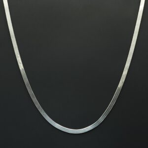 halsketting 925 zilver plat model fijne zilveren ketting sterling zilver platte zilveren ketting fijn zilver ketting damesketting skoander.com