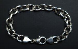 armband grove schakel 925 zilver dames armband sterling zilver 19,50 cm brede schakel 925 zilver kwaliteit armband zilveren dames armband zilveren armband skoander.com
