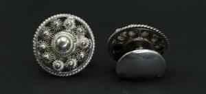 zeeuws knopje manchetknopen zeeuws knoopje manchetknopen zilver zeeland zeeuwse knoop zilver manchetknopen skoander.com