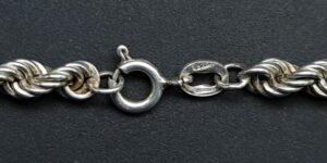 arezzo armband zilver laso italy bracelet rope chain rope ketting armband smalle pols italiaans zilver armband italiaans design zilver sieraden armbandje 925 zilver skoander.com arezzo silver
