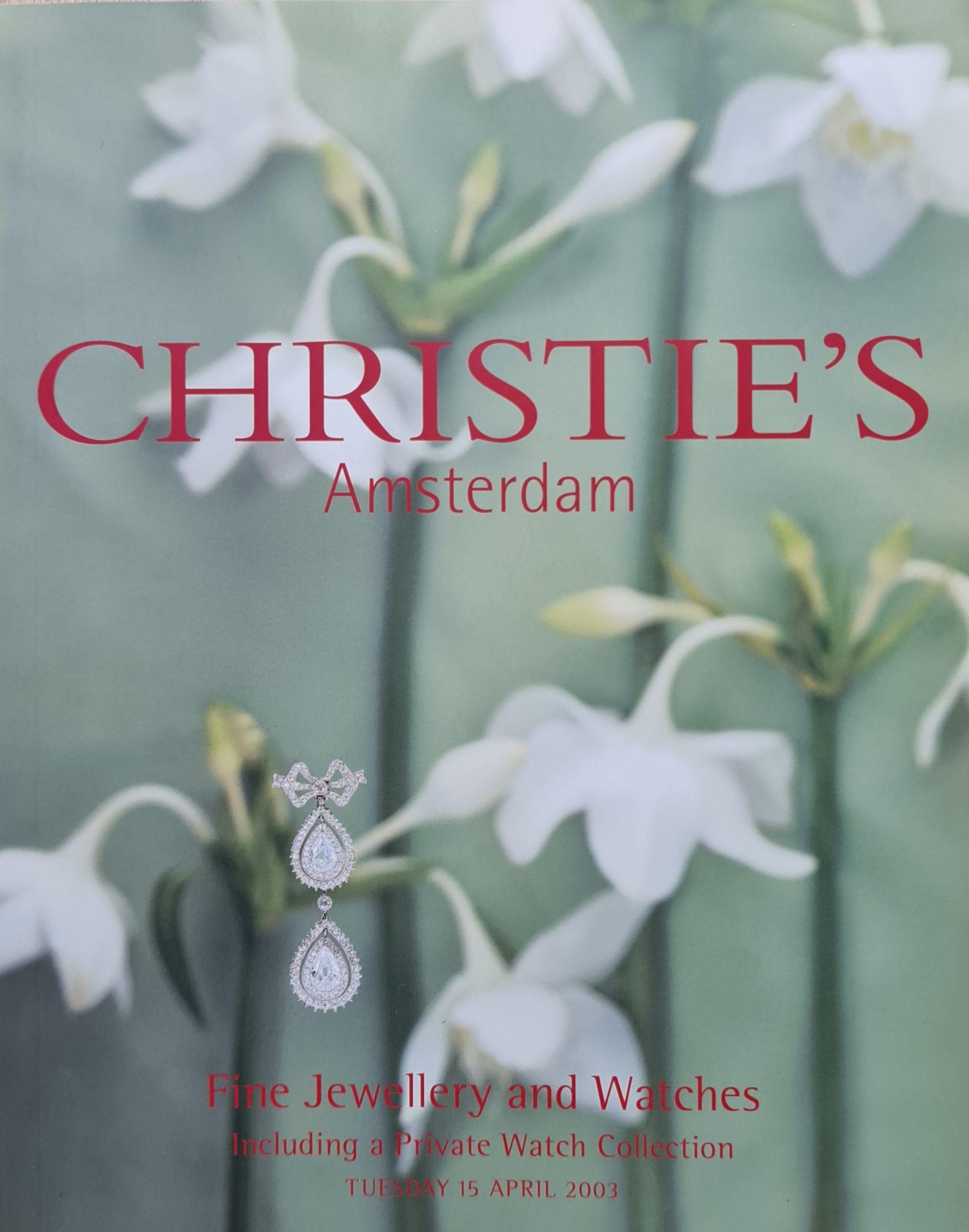 Christie's Amsterdam Veilinggids Fine jewellery and watches Veilingdatum 15 april 2003 skoander.com