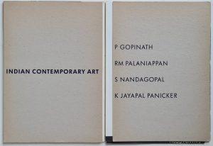 indiase kunstenaars indiase kunst india kunstboek Indian contemporary art P Gopinath Rm Palaniappan S Nandagopal K Jayapal Panicker Gate foundation 1989 ISBN 9073230012 ISBN13 9789073230019 skoander.com