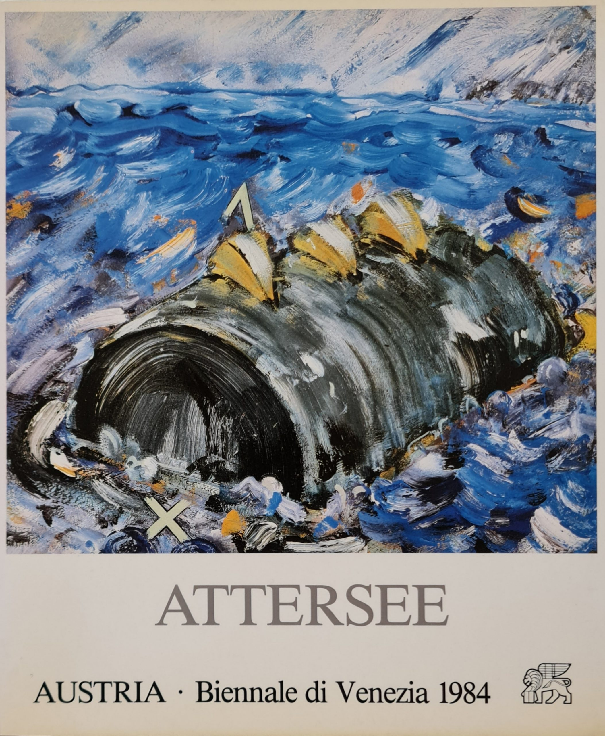christian attersee artbook christian attersee kunstboek christian attersee boek christian Attersee Austria biennale di Venezia 1984 skoander.com