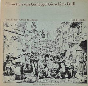 Sonnetten van Giuseppe Gioachino Belli Adriaan H. Luijdjens 1978 Nederlands Italiaans sonnet renaissance italie sonnet rijmend gedicht poezie sonnetto italia klassiek sonnet skoander.com