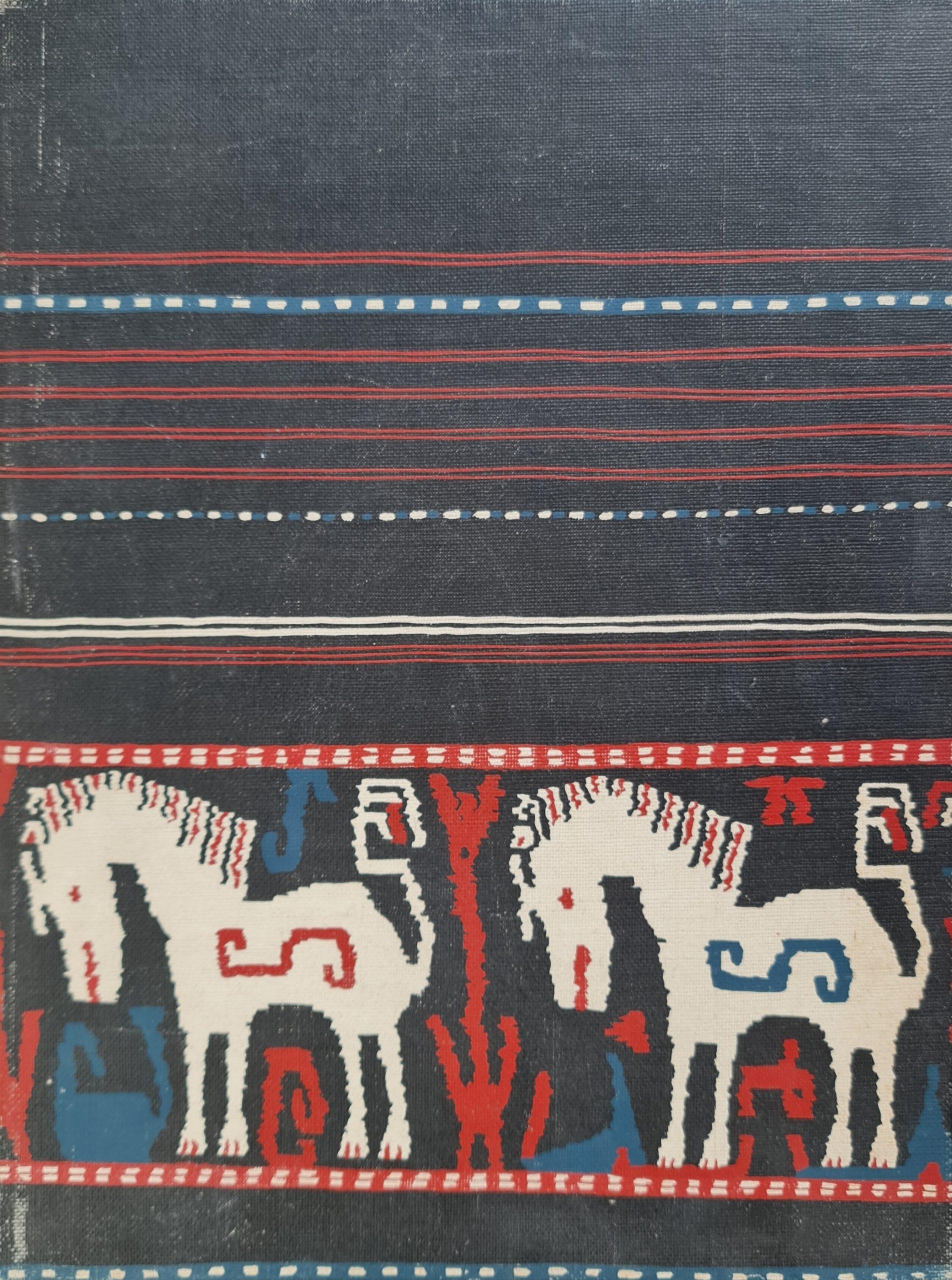 Decorative art in Indonesian textiles L Langewis F A Wagner 64 pagina's 14 kleuren afbeeldingen 216 zwartwit afbeeldingen Jaar 1964 Afmeting 25 x 33 cm Engelsboek indoneisch textiel boek indonesische stoffen skoander.com