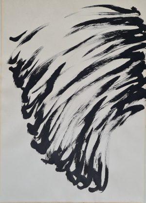 Alfons van Leggelo Abstracte compositie Titel onbekend abstracte kunst van leggelo kunst alfons van leggelo kunstenaar alfons van leggelo muziekdocent alfons van leggelo muziek skoander.com